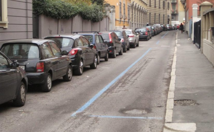 E' possibile ottenere un pass per parcheggiare sulle strisce blu anche se non sono intestatario del veicolo?